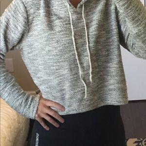 Brandy Melville Tops - Brandy Melville cropped hoodie
